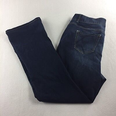 Lane Bryant Boot Cut Tighter Tummy Technology Jeans Women's Size 20 Long (R4)