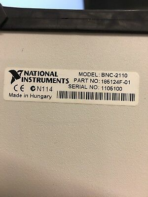 National Instruments BNC-2110 Shielded Connector Breakout Box
