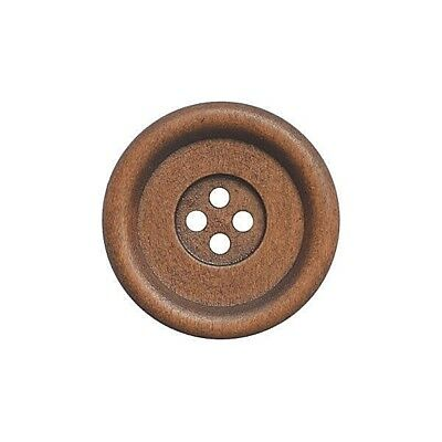 Fine Style Four Hole Wooden Buttons Wholesale Packs