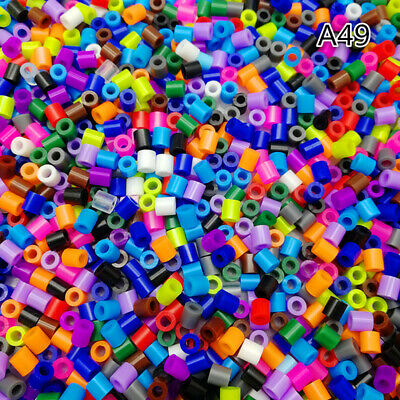 250/500/1000 pcs 5MM Color mixing PP HAMA/PERLER BEADS for GREAT Kids Great Fun