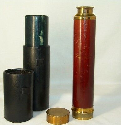 old rare antique Maritime Telescopes Steinheil in Munchen №5808,Germany
