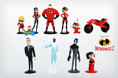 The Incredibles 2 Cake Toppers / Figures