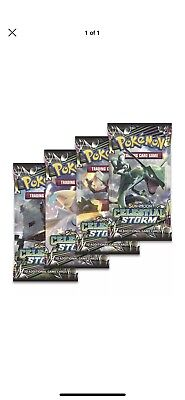 FIVE(5)x Pokemon TCG Celestial Storm Booster Pack - NEW FACTORY SEALED