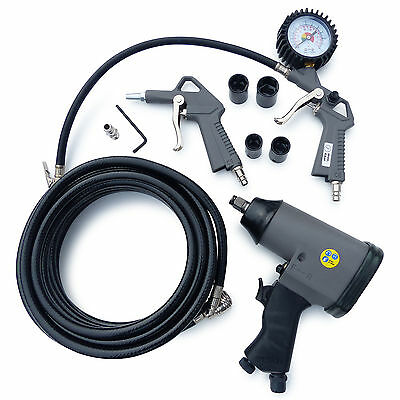 Impact Driver Set Compressor Compressed Air Tool Pneumatic Impact Wrenches