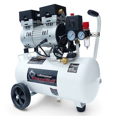 Whisper Silent Compressor Pro 80l Oil Free Low Noise 69db Air Compressor Clinic Complete In Specifications Air Compressors Hydraulics, Pneumatics, Pumps & Plumbing