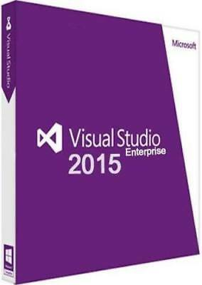 Visual Studio 2015 Enterprise ⭐Lifetime License ⭐
