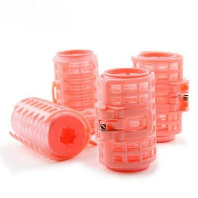 4Pcs Hair Curler Roller Grip Styling Roller Curlers Hairdressing Tool DD