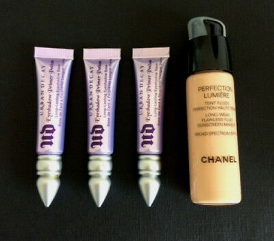 Urban Decay Eyeshadow Primer Potion Original 3x 3.7ml (11.1ml) + BONUS GIFT3