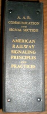 Association of American Railroads Signal Section 1949 to 1959 Binder 10 Booklets