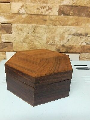 Indian Rosewood Sectioned Box