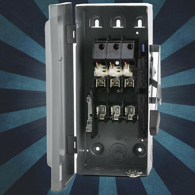 Square D D322N General Duty Safety Switch