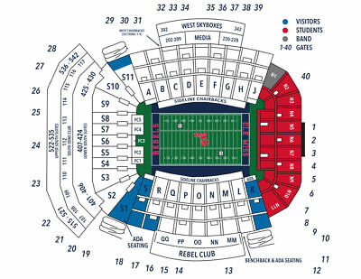 2 alabama ole miss football tickets tide pride visitors section s