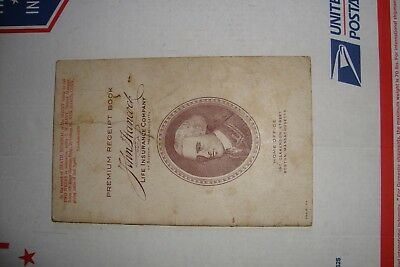 1929 John Hancock Insurance Premium Receipt Booklet Boston Mass good condition !