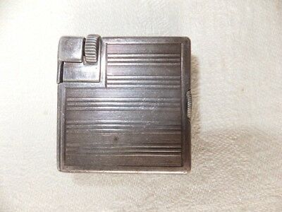 Vintage Dunhill Demi-sized Silver Plated Lighter
