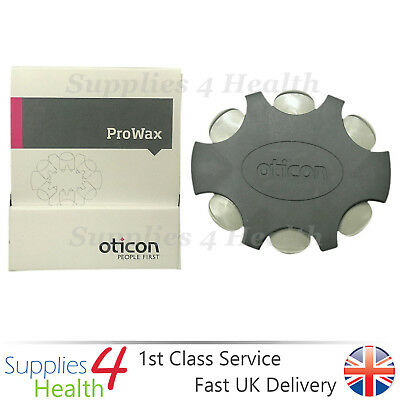 Oticon ProWax Hearing Aid Wax Filter Wax Guards Fit Some Bernafon Aids -6 Pack