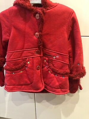 Girls Catimini Coat Age 23 Mths Very Good Condition
