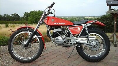 Bultaco trials classic twin shock Sherpa 350.....1976 with V5