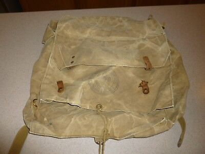 Vintage BSA Boy Scouts of America Yucca Pack Canvas Backpack