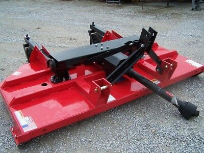 New Titan 8 ft. HD Brush Hog (3 point)-- **Made in USA Can ship @ $1.85 mile.