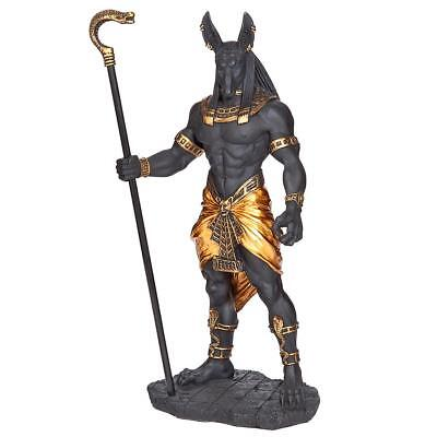 Design Toscano Anubis, Jackal God of the Egyptian Underworld Statue