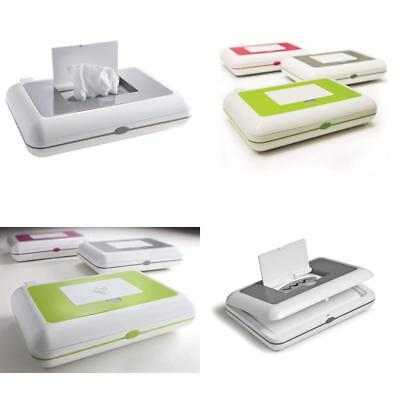 Baby Wipes Warmer Dispenser Compact Plastic Storage Diapering Travel Organizers