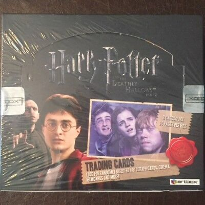 ArtBox Harry Potter Deathly Hallows Part 2 RARE the #0001/4000 Sealed Hobby Box