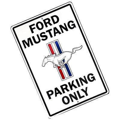 ford truck parking only 8 x 12 metal embossed sign logo f150 f 150 1952 Ford Truck new ford mustang parking only 8 x 12 metal embossed sign pony gt logo garage