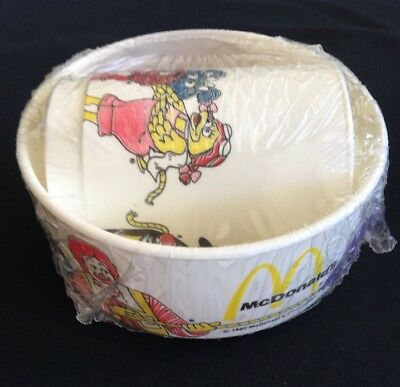 Vintage Ronald McDonald Cup Bowl Set Brand New Sealed 1987 USA