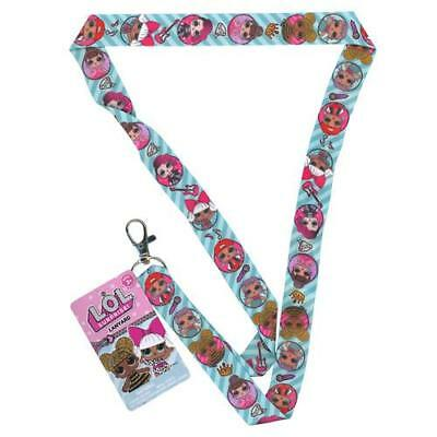 """LOL SURPRISE! Lanyard Neck Strap Necklace """"Let's Be Friends!""""  New Licensed"""