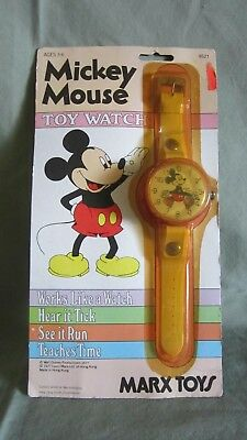Vintage Mickey Mouse Watch Marx Toys 1977 #9521 In Sealed Original Packaging