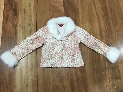 Girls Authentic Guess Jeans Jacket Size 5-6