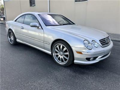 2001 Mercedes-Benz CL-Class 600 AMG STYLING PACKAGE 2001 Mercedes-Benz CL-Class $1 NO RESERVE AUCTION