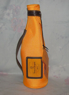 Veuve Clicquot Champagne Brut Wine Cozy Ice Jacket 3 - Orange - Tags