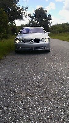 2001 Mercedes-Benz CL-Class  2001 Mercedes-Benz CL 500