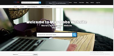 Awesome Microjob Marketplace Website Free Installation + Free Hosting