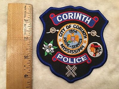 City Of Corinth Police Patch Mississippi
