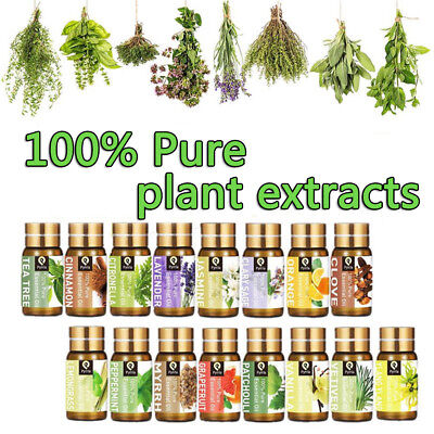 5ml Essential Oils For Aromatherapy Diffusers Pure Essential Body Massage Oil