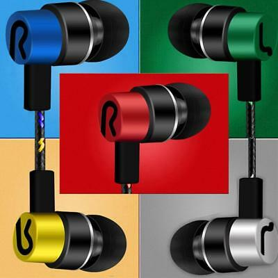 Universal 35mm In-Ear Stereo Earbuds Earphone Mic For SamsungiPhone,Xiaomi_,