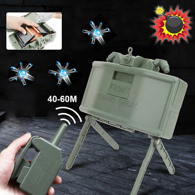 Electric Remote Control Bomb Gel Ball Blaster Anti Personnel Mine Outdoor Toy
