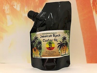 100ml JAMAICAN BLACK CASTOR OIL -100% Pure - Treat hair loss=HAIR GROWTH