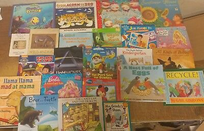 Lot of 20 K-5 Scholastic Learn to Read Picture Mix Set Kid Children Book #Z81 NR
