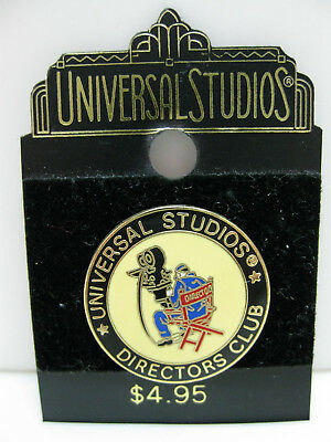 UNIVERSAL STUDIOS DIRECTORS CLUB PIN BADGE from 1997 Movies Film Cinema
