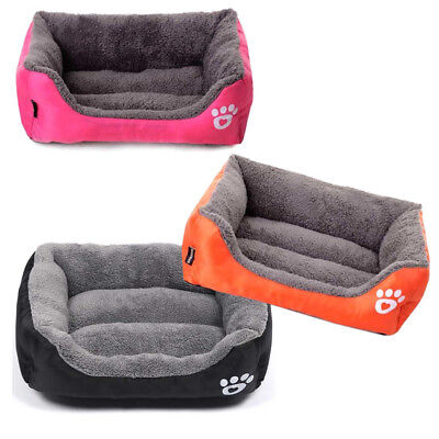 Large Pet Dog Bed Puppy Cat Cushion House Pet Soft Warm Kennel Dog Mat Blanket
