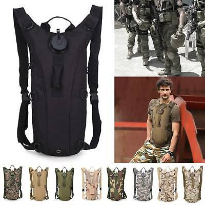 3L Water Bladder Bag Hydration Military Hiking Camping Backpack Camelbak Pack