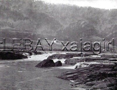 West Virginia Kanawha Falls & Homestead, Antique 1890s Print