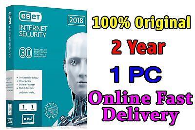 Eset Internet Security 2018 Original key Fast Delivery 2Year 1Pc License Key