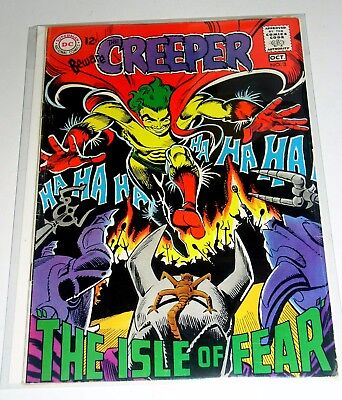 Beware The Creeper #3  Steve Ditko Art & Cover - Dc Silver Age 1969