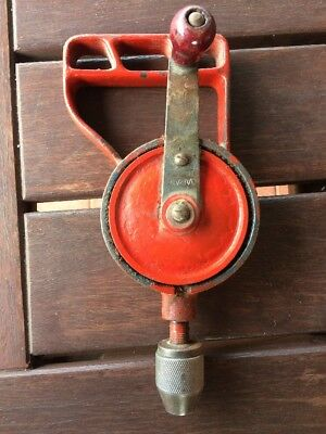 Vintage Hand Egg Beater Drill