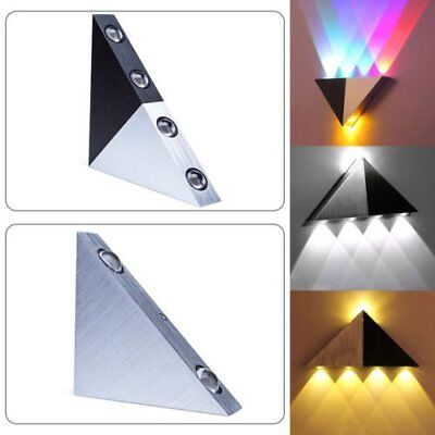 Modern Triangle 5W/3W LED Wall Sconce Light Fixture Indoor Hallway Up Down Lamp