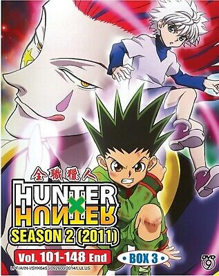 98b90f776bc Anime Japan DVD Hunter X Hunter Season 2 Volume 101-148 End (box3)